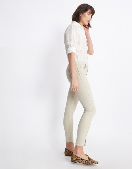 Skinny cropped jean Daytona - CREAM