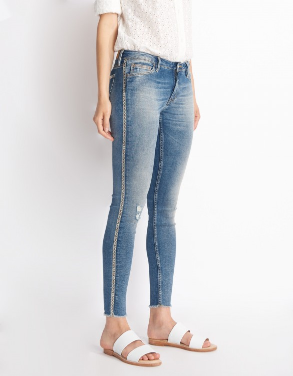 Jean skinny cropped Lily - DENIM HERRING