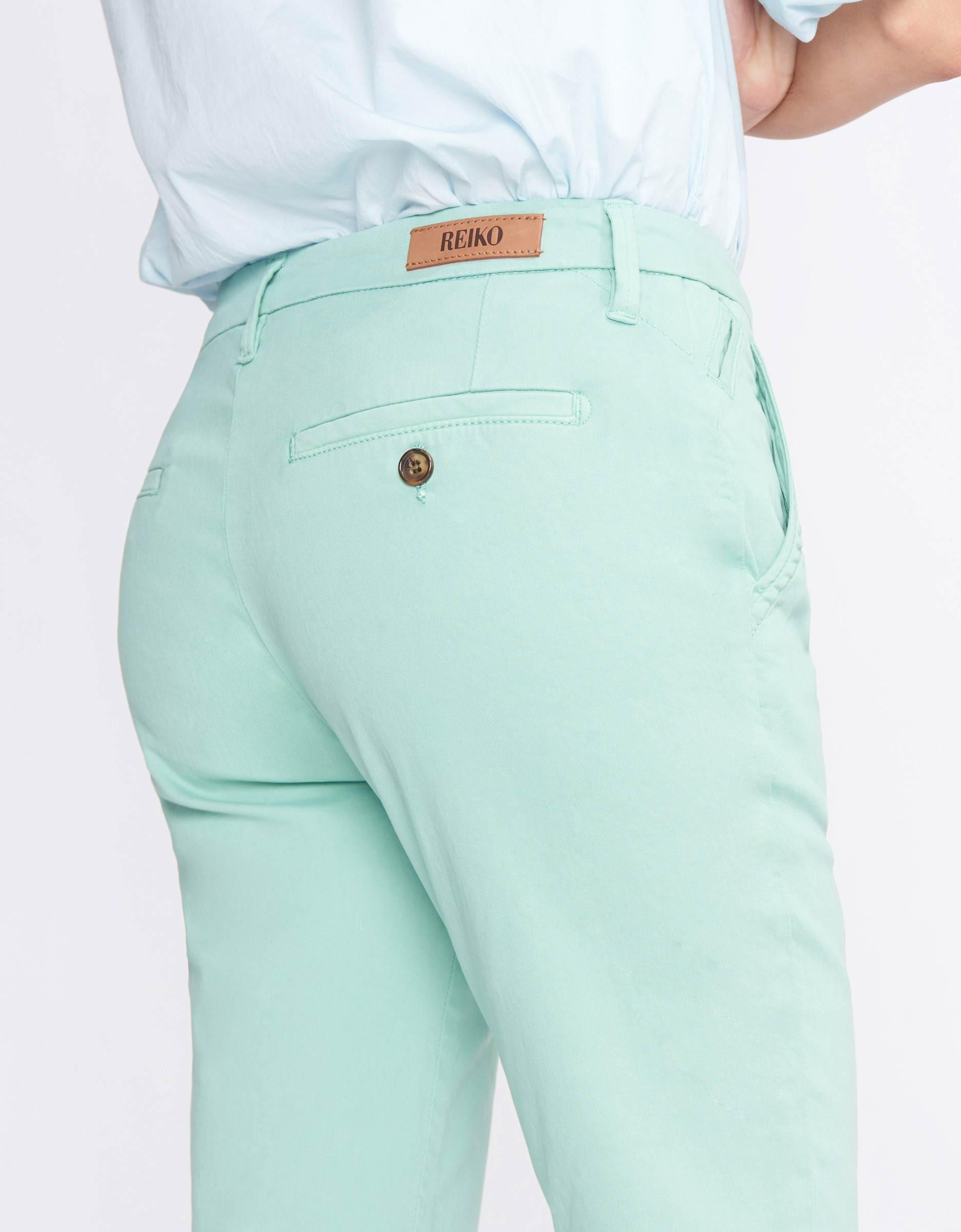 2 Pantalon Sandy Basic Chino Jade Vert BdCxoWre