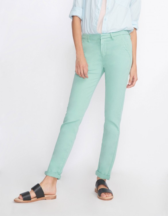Chino Trousers Sandy Basic 2 - VERT JADE