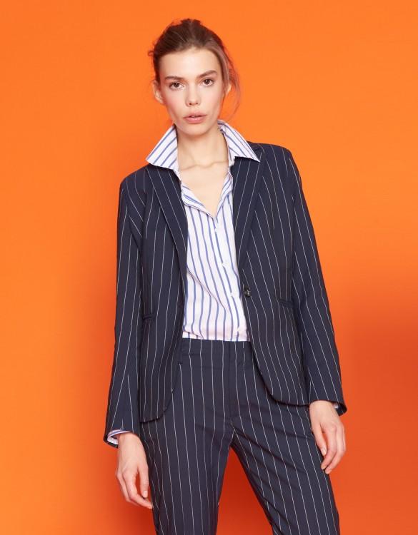 Blazer jacket Birkin Fancy - STRIPES NAVY