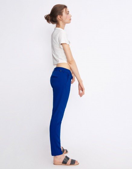Cigarette Trousers Lizzy Color - ROYAL BLUE