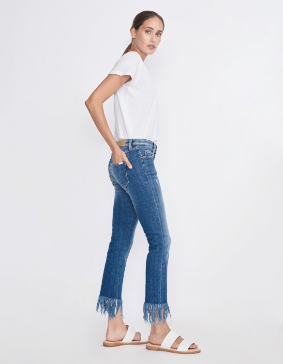 Jean slim cropped Perry - DENIM M-60