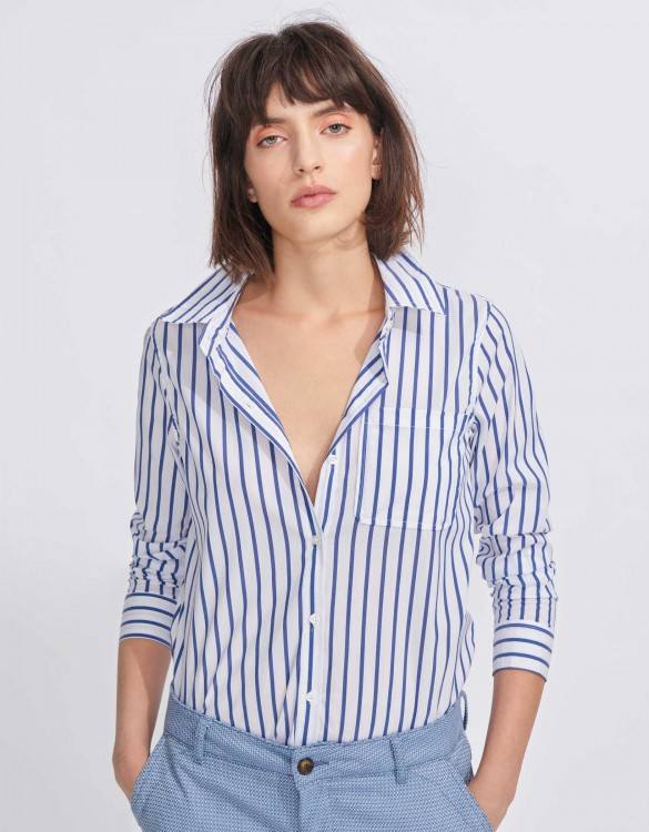 Chemise Carl Stripes - NAVY
