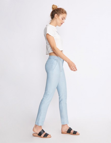 Cigarette Trousers Lizzy Fancy - OCEAN