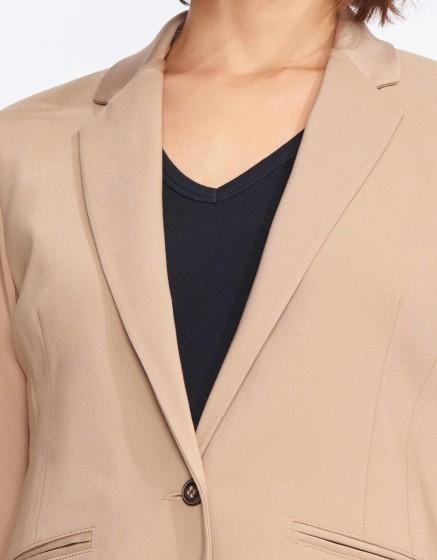 Veste blazer Birkin Color - MOKA