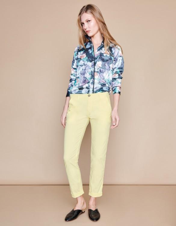 Chino trousers Pam - JAUNE PAILLE