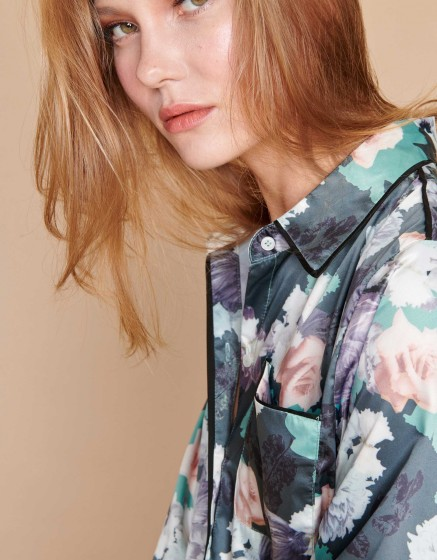 Shirt Carl Piping - GREEN FLOW
