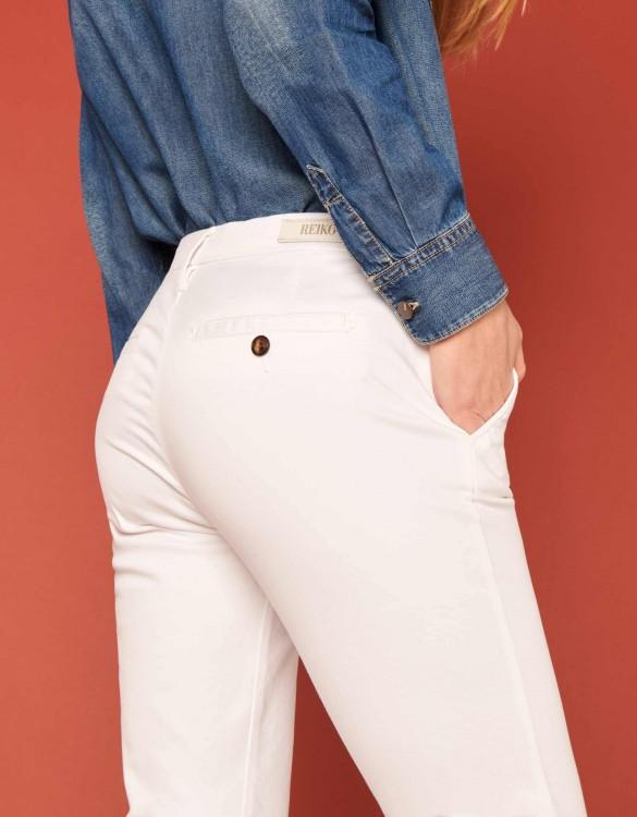 Chino Trousers Sandy 2 Basic - WHITE