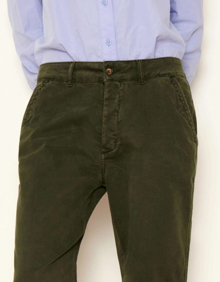 Pantalon chino tapered Scott - VERT DE CHROME