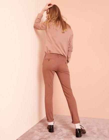 Chino Trousers Sandy 2 Basic - AUBURN