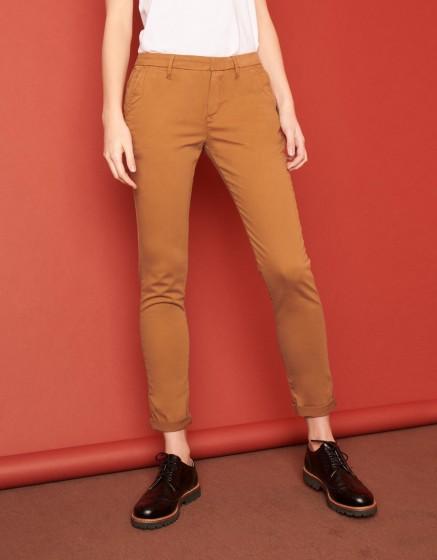 Pantalon chino Sandy 2 Basic - CHAMOIS