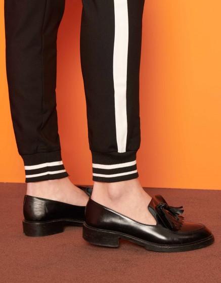 Pantalon street Elis - BLACK