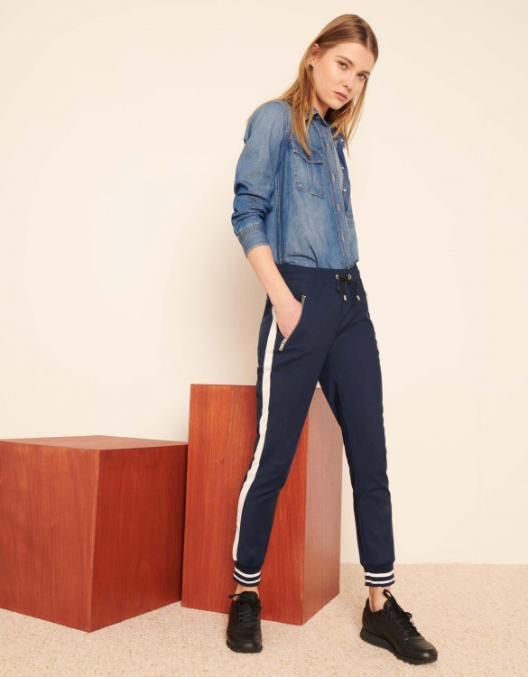Street trousers Elis - NAVY