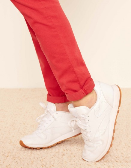 Chino Trousers Sandy 2 Basic - BURNT RED