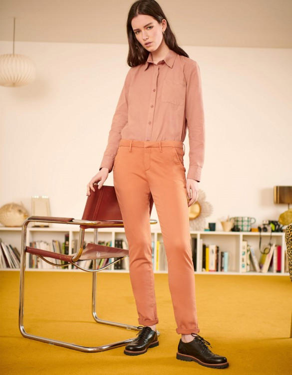 Chino Trousers Sandy 2 Basic - SALMON