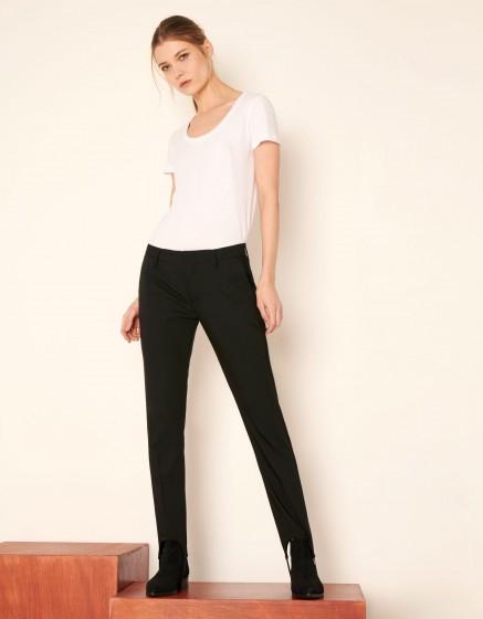 Pantalon Cigarette Lou - BLACK