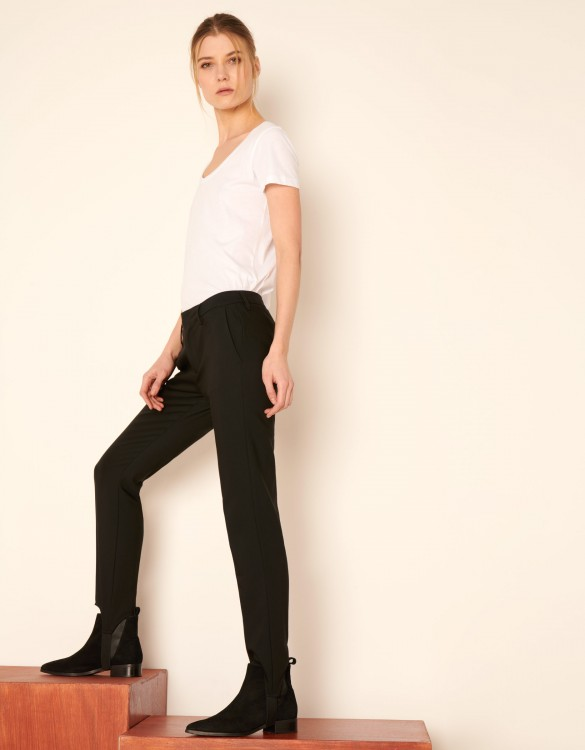 Pantalon Cigarette Lou - BLACK