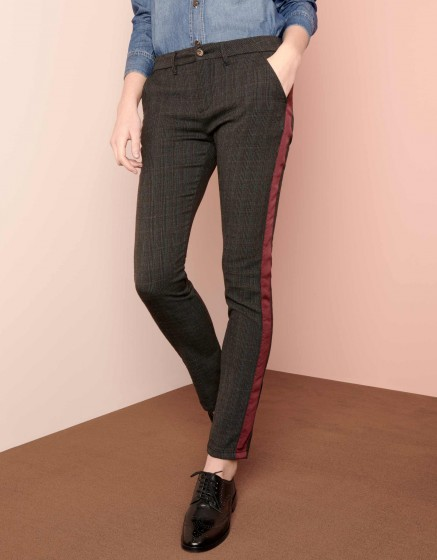 Chino Trousers Sandy Fancy - HERRING CARRY