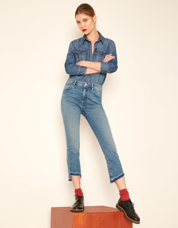Straight cropped jean Lottie - DNM V-41