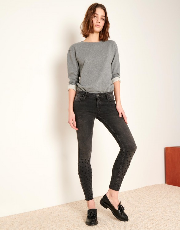 Jean skinny cropped Lily Destroys - DNM BL-13