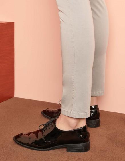 Pantalon chino Sandy Ribbon - GRIS PERLE
