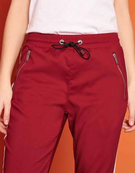 Pantalon street Elis - GROSEILLE