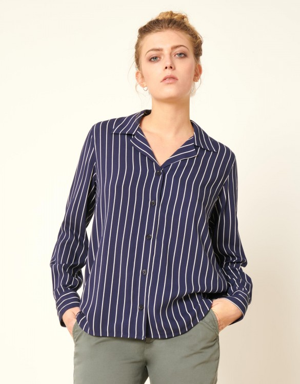 Shirt Clay Stripes - NAVY