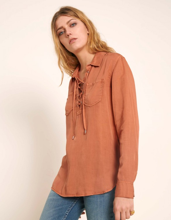 Shirt Caty Color - SALMON