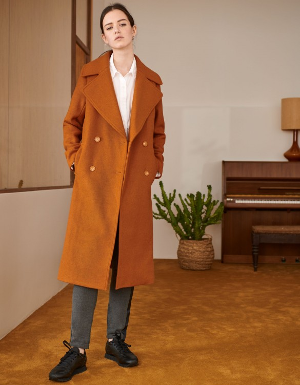 Manteau Mael Color - CARAMEL