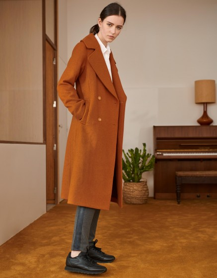 Coat Mael Color - CARAMEL