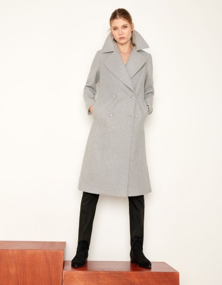 pantalon chino sandy ribbon pour femme gris perle reiko. Black Bedroom Furniture Sets. Home Design Ideas