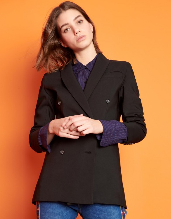 Veste blazer Basil Color - BLACK