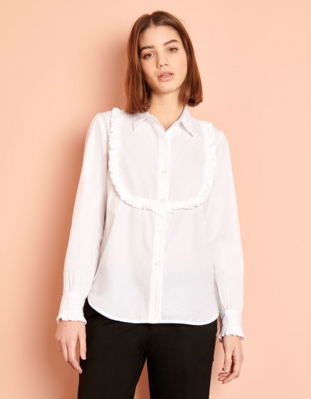 Chemise Cliff Color - WHITE