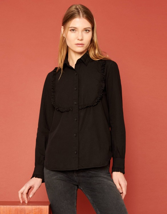 Shirt Cliff Color - BLACK