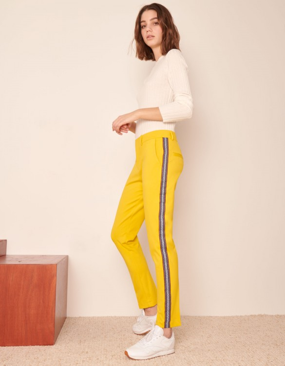 Cigarette Trousers Lizzy Herring - HONEY
