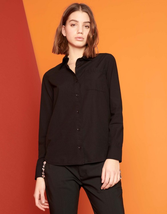 Shirt Carl Color - BLACK