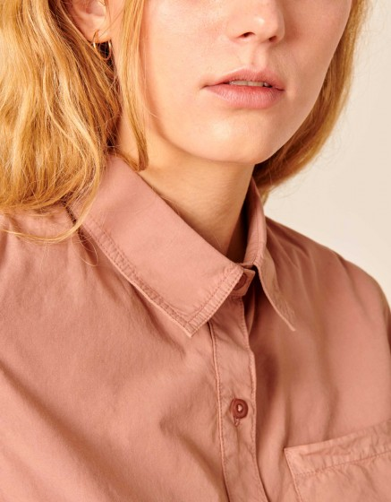 Shirt Carl Color - DUSTY PINK