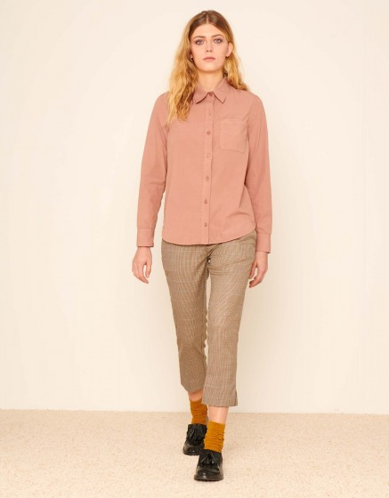 Chemise Carl Color - DUSTY PINK