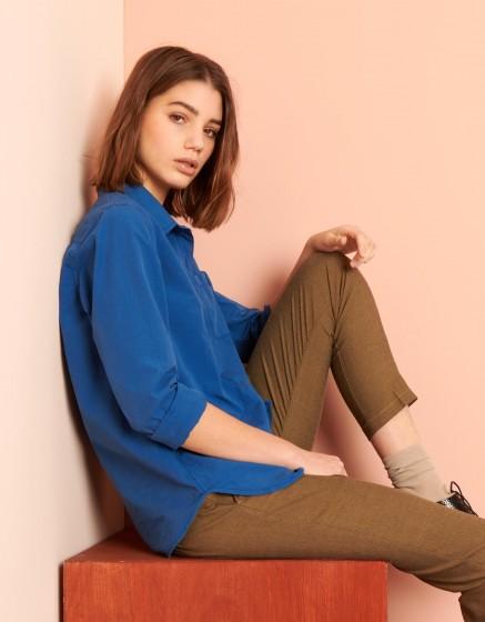 Shirt Carl Color - VICTORIAN BLUE