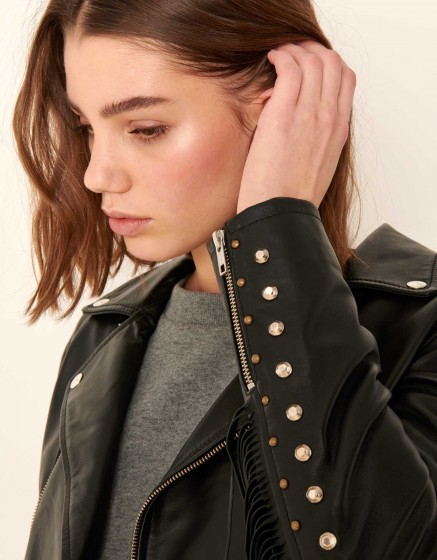 Veste perfecto Percy - BLACK