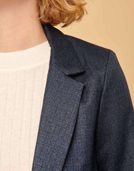 Blazer jacket Blair Fancy - METALLIC BLUE