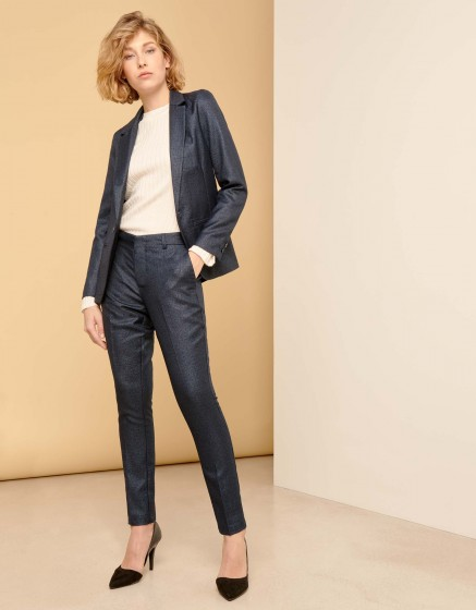 Veste blazer Blair Fancy - METALLIC BLUE