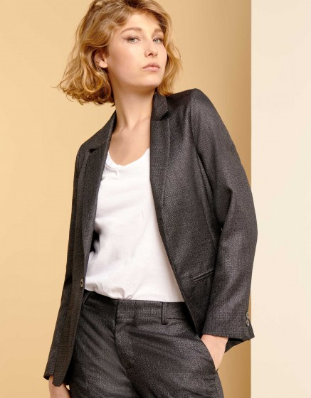 Veste blazer Blair Fancy - METALLIC BLACK