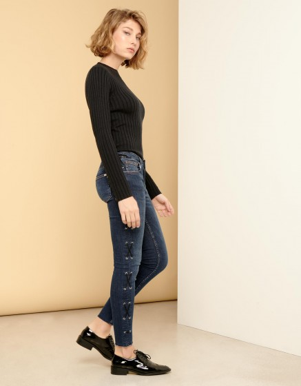 Jean skinny cropped Lily Rope - DNM B-92
