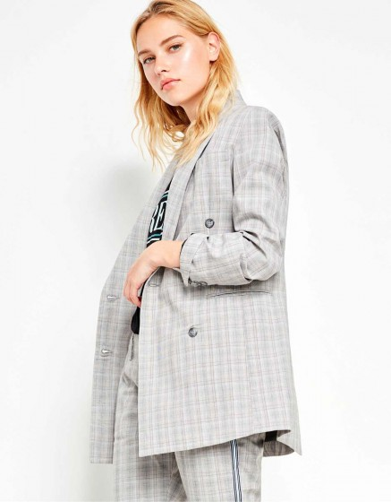 Veste blazer Basil Fancy - LIGHT TARTAN