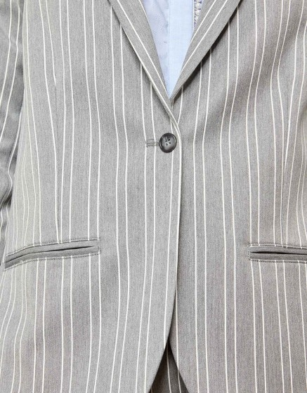 Veste blazer Blair Fancy - STEEL STRIPED