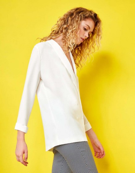 Veste blazer Victoire - WHITE