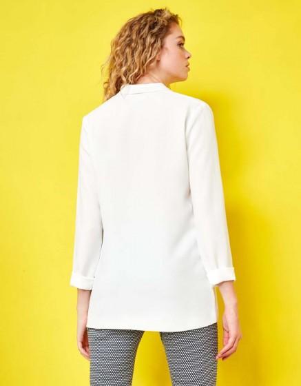 Blazer jacket Victoire - WHITE