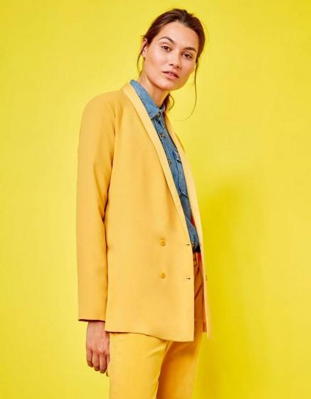 Blazer jacket Victoire - SUNFLOWER